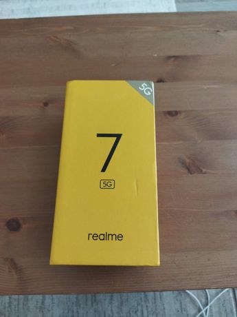 Realme 7, 5 G, 120 герц, новый