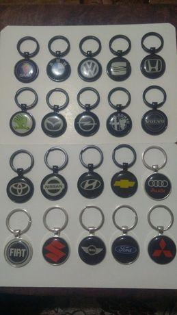 Ключодържател за различни марки кола автомобил + подарък