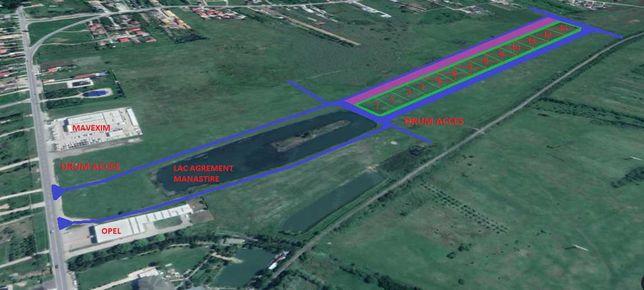 Vand parcele teren, deschidere la lac agrement Aleea Manastirii