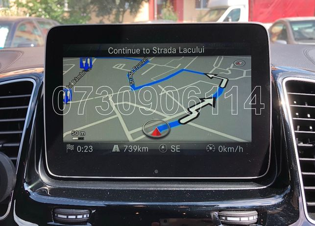 Card SD Navigatie Mercedes Garmin Audio 20 C E V GLC GLK GLE V14 2020