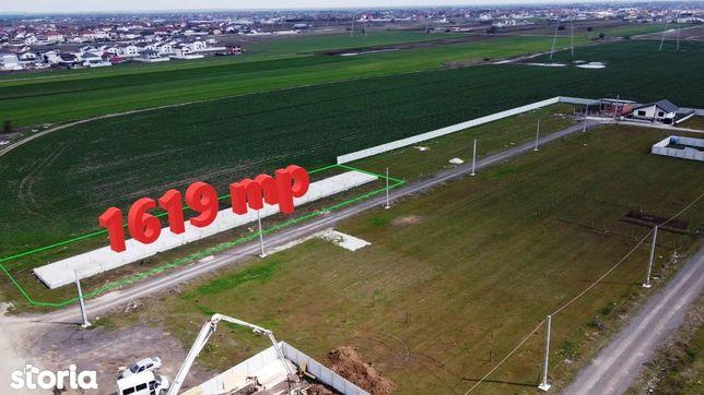 1600 mp teren + Proiect autorizat 10 case, comuna Berceni