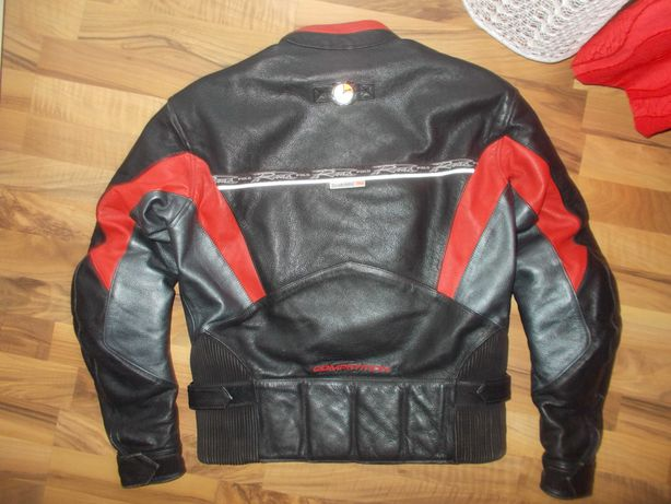 geaca moto polo road competition,piele,protectii full,marime M