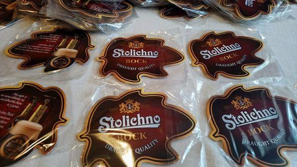 84бр подложки за бира Stolichno, Столично за 10лв