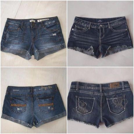 Два чифта дамски къси панталони, M/L