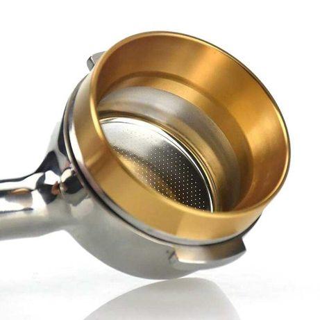Алуминиев ринг за портафилтър на еспресо машина - розово злато