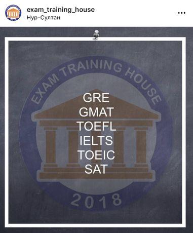 Подготовка к IELTS, TOEFL, SAT, GRE, GMAT с носителем языка