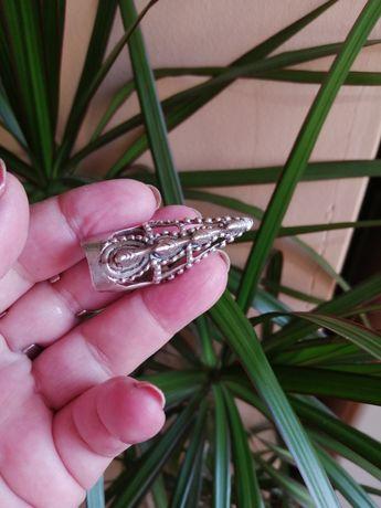 Inel argint pentru falanga