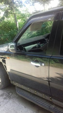 Usa stanga fata / spate dezechipata Land Rover Discovery 3 Albastru