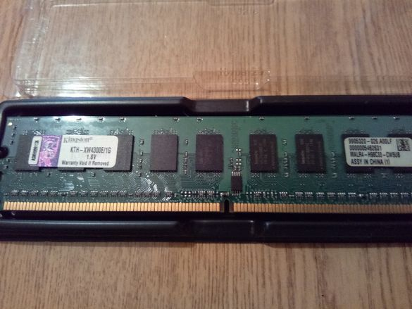 Ram памет Kingston DDR2 KTH-XW4300Е/1GB 667Mhz 1.8v