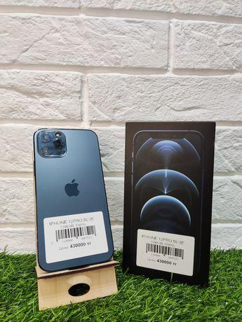 iPhone 12 Pro blue 128gb 100%