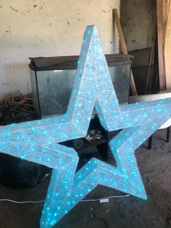 Decoratiune stea luminoasa