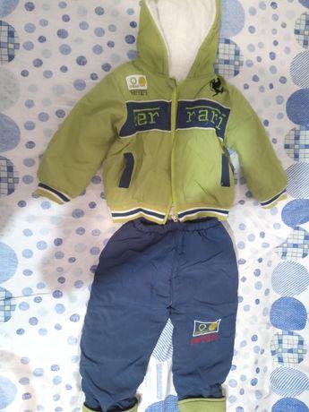 Продам детскую демисезонную куртку на мальчика