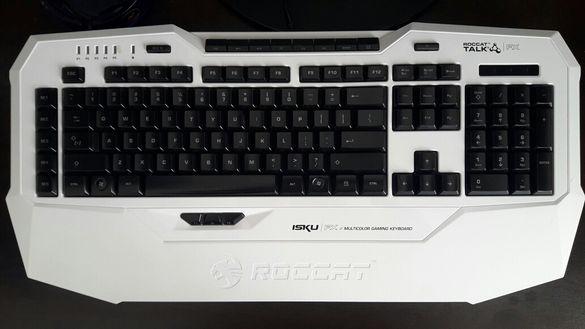 Клавиатура Roccat Isku FX Multicolor