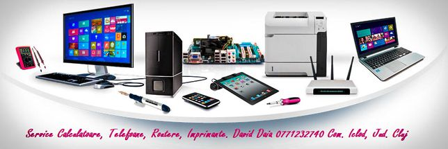 Reparații Calculatoare, Telefoane, Routere, Imprimante