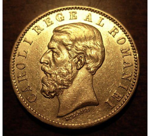 Moneda aur, carol I
