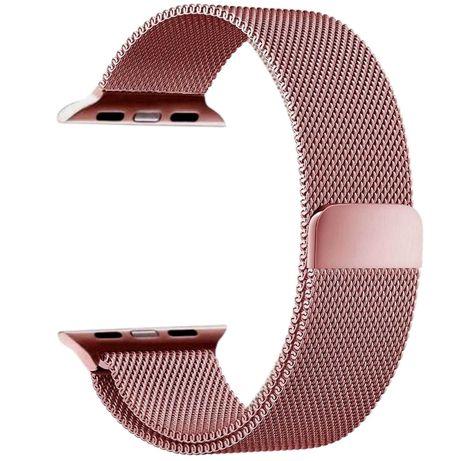 Bratara Apple Watch Milanese Loop Rose 38/40mm
