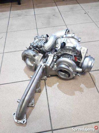 Turbina Turbo BMW X6 X5 35d 40d 286cai 306 cai 535 735 RECONDITIONATA