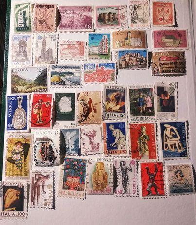 Lot 81 timbre Europa