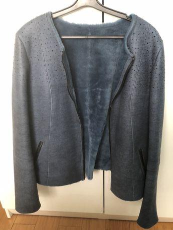 Куртка из дубленой кожи
