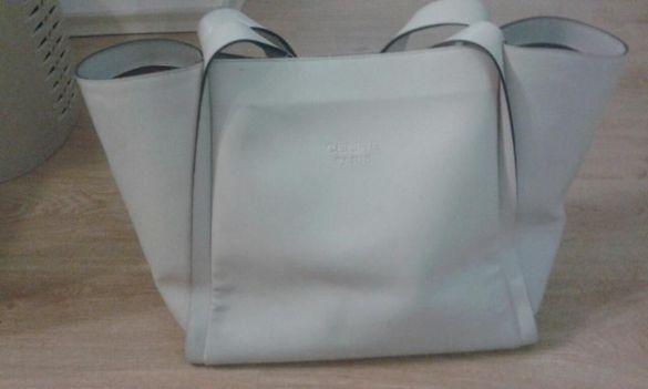 Чанта екрю