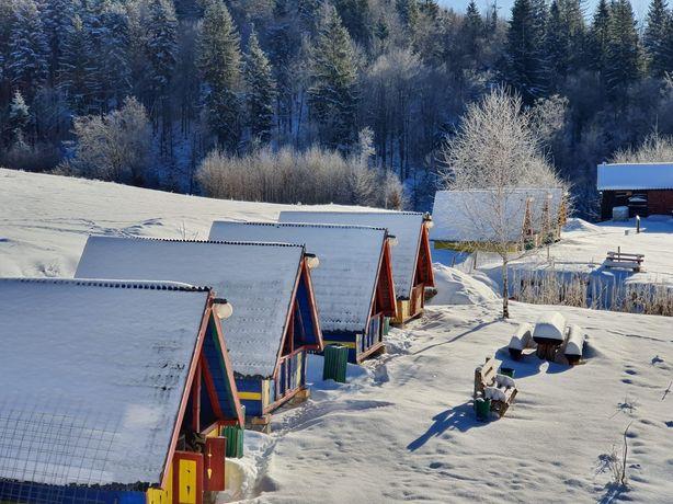 Cabana cu camping schimb cu apartamente, pensiuni la Marea Neagra