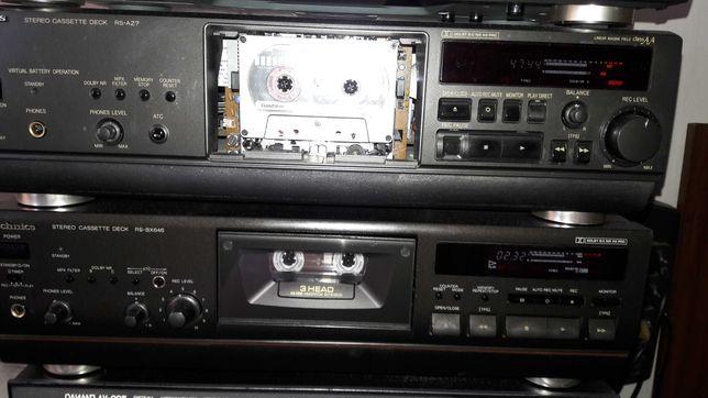 Technics - 646 кассетная дека.