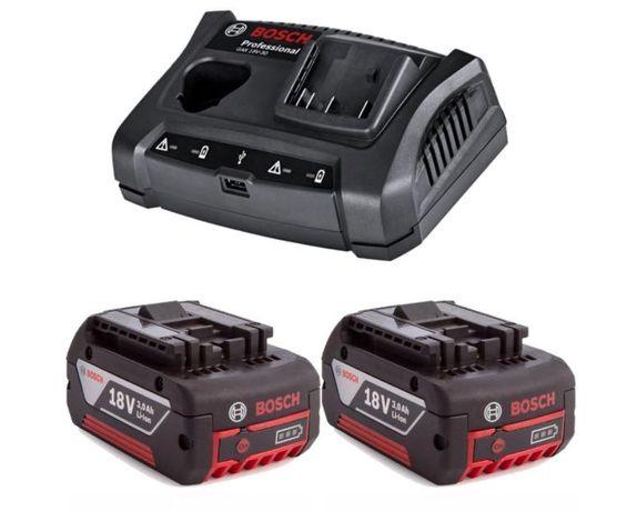 Акумулаторна батерии Bosch 3.0Ah и зарядно устройство 18V GAX18V30