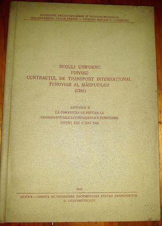 1984 - Reguli interne privind contractul de transport international fe