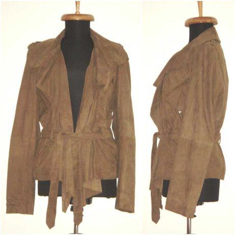 Jacheta noua, din piele de caprioara, Goosecraft