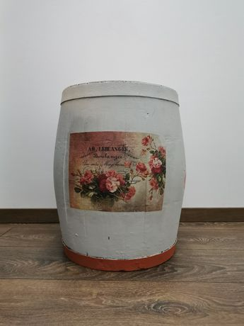 Ръчно декорирана бъчва