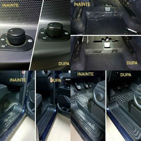 Detailing interioare curatat auto polish exterior si tapiteria