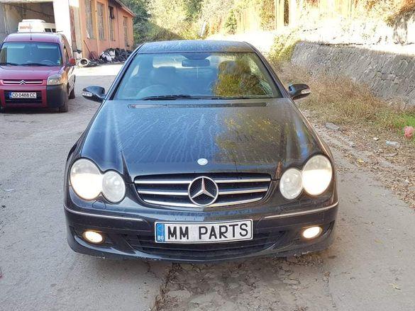 Mercedes CLK320CDI W209 224кс OM642 7G-Tronic Facelift НА ЧАСТИ!
