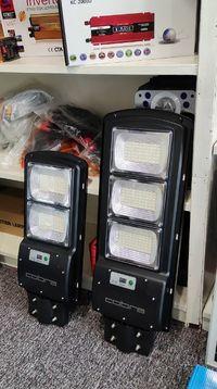 Улична Соларна Лампи 130/230 и 345 Вата