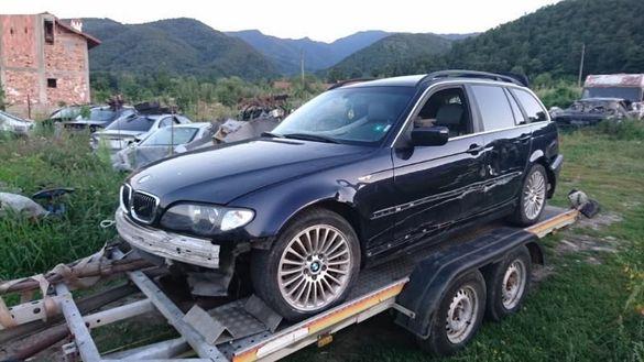 БМВ Е46 330дА 184коня на части BMW e46 330dA 184hp
