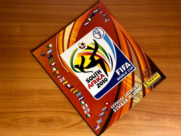 PANINI WC 2010 Africa de Sud ALBUM NOU GOL Stare MINT Ed International