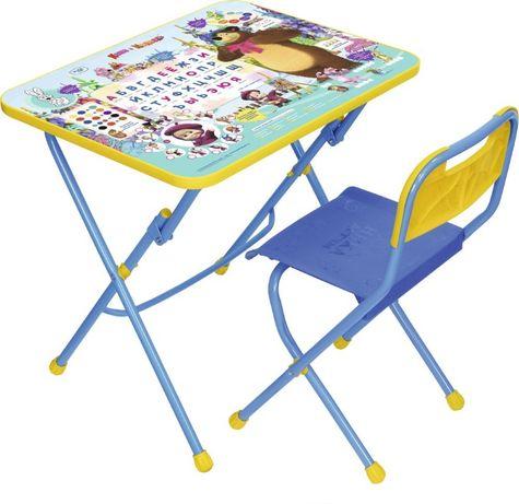 Комплект «Маша и медведь», 3-7 лет, пластмассовое сиденье