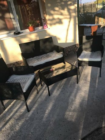 Градински мебели Ратан комплект от 4 части на ТОП ЦЕНА 280ЛВ.