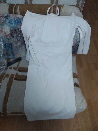 Вечерние белое платье