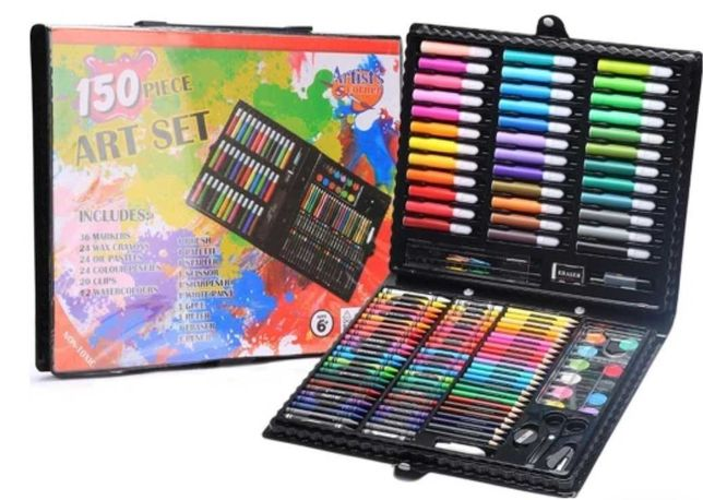 """Чемоданчик """"набор юного художника для рисования Art Set 150наборов"""