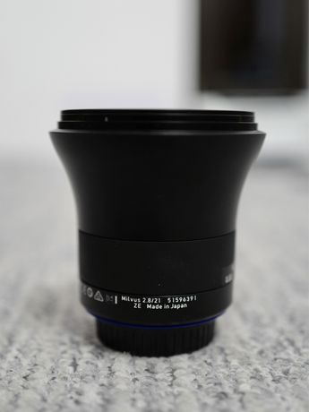 Zeiss Milvus 21mm f/2.8 ZE - pentru Canon