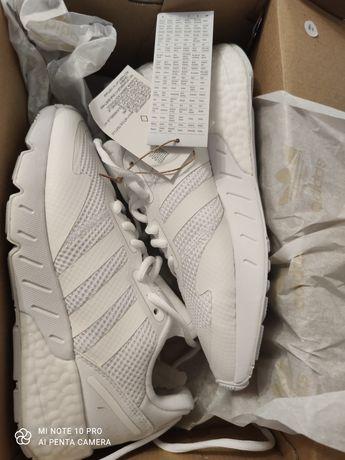 Adidas ZX 1K BOOST albi, nr 38, barbati