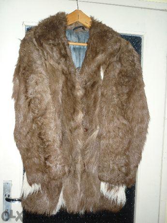 Дамски естествен кожен кожух (палто)