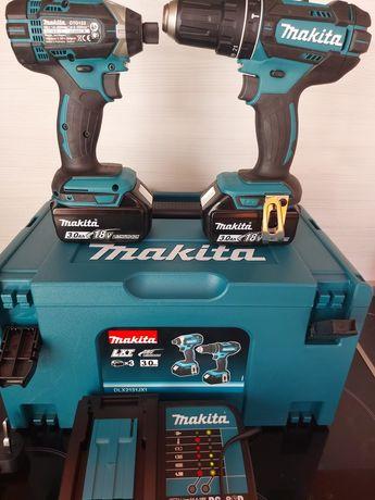 Нов комплект Makita DLX2131 18v