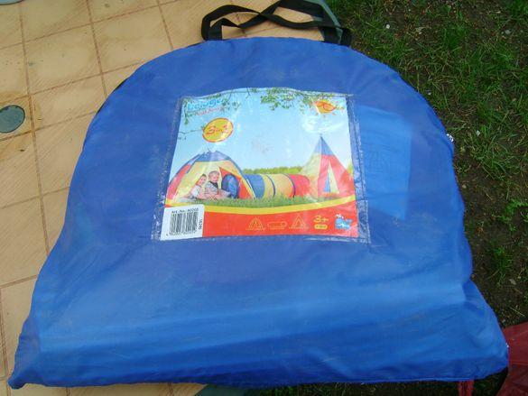 Детска палатка за плаж - 3в1 - Чисто нова!