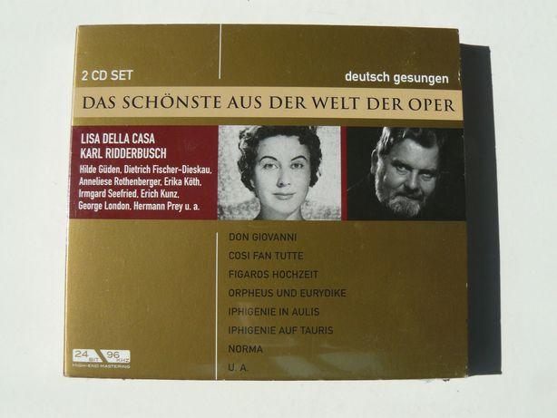 """CD Opera Dublu """"Das Schönste Aus Der Welt Der Oper"""" Original,Impecabil"""