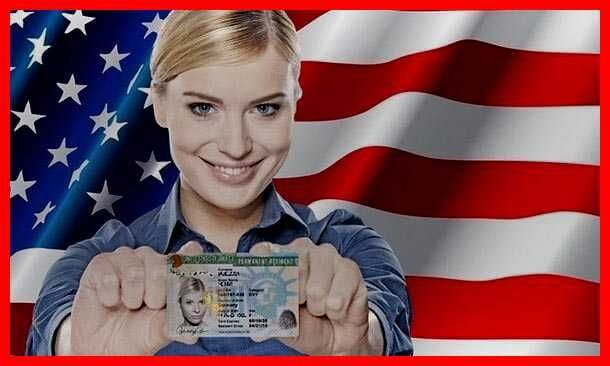 Лотерея Грин-карт США Green Card DV-2023 помощь в оформлении