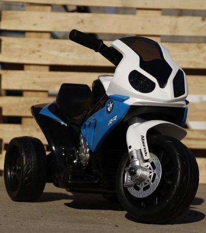 Mini Motocicletă electrică pentru copii BMW S1000RR 1x15W #Albastru