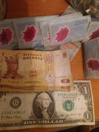 Monezi si harti