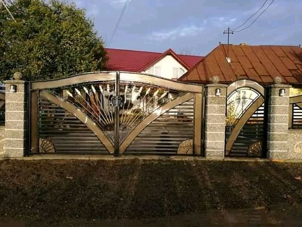 Porți garduri balustrade fier forjat