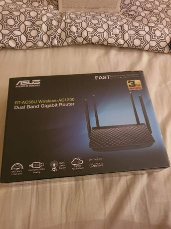 Wireless router RT-AC58U Asus 4 antene